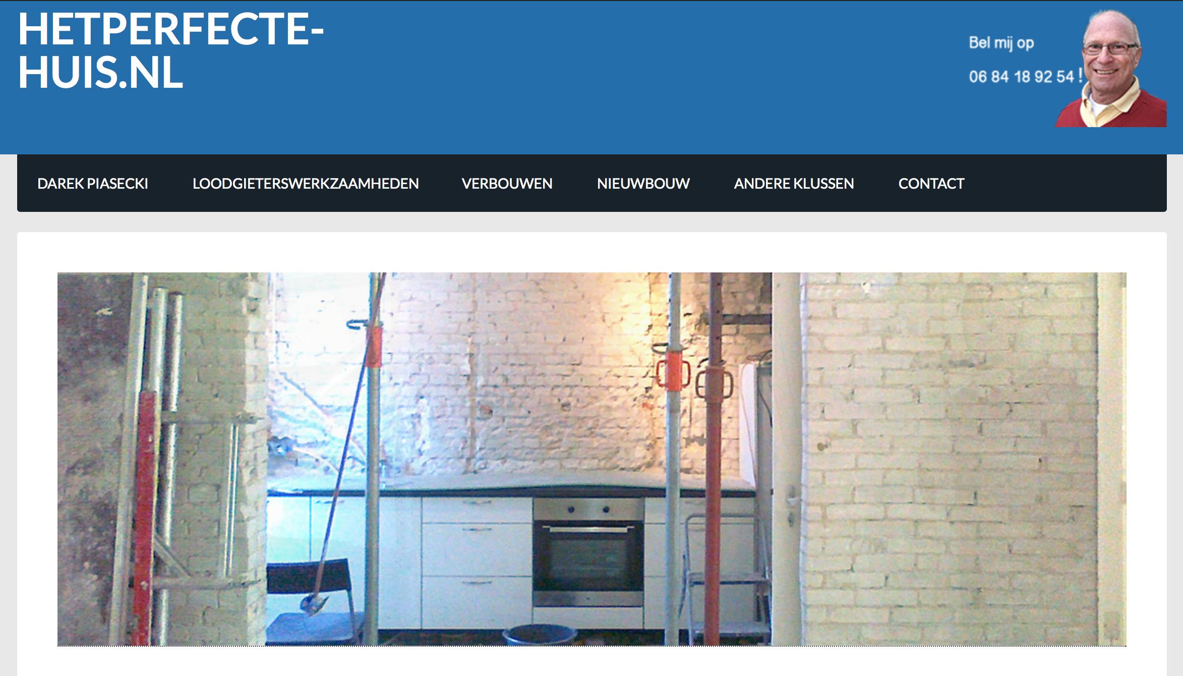 Nieuwe website Poolse aannemer