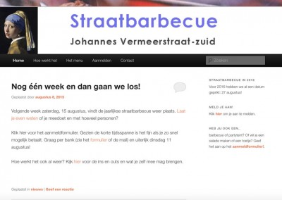 Straatbarbecue