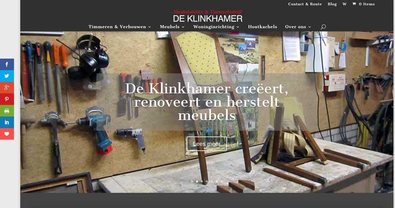 De Klinkhamer nu ook in Divi
