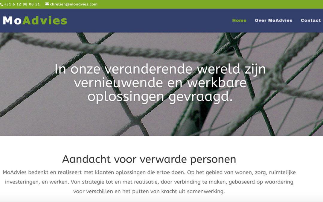 Website en huisstijl voor MoAdvies