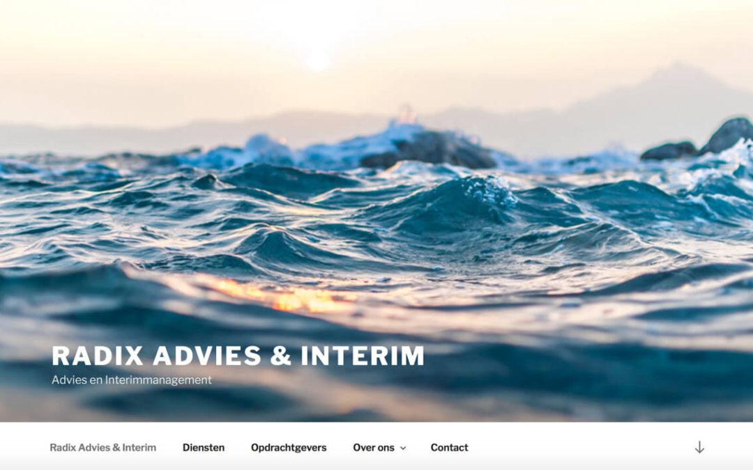 Radix Interim Advies